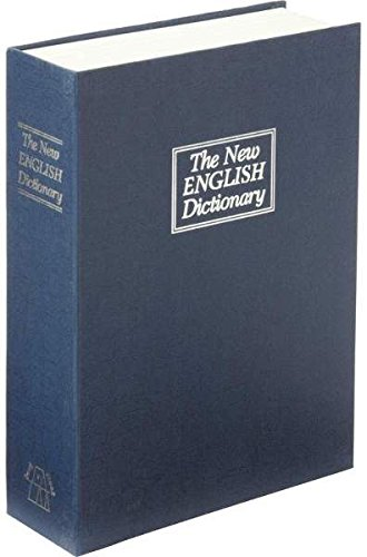 Small Faux Dictionary Safe w/Combination Lock 1 pcs sku# 1797374MA