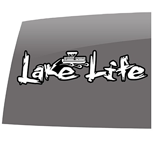Window Swag Lake Life - Boating - Color - Decal - Lake Life - Outdoor - Vinyl Sticker