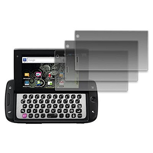 EMPIRE 3 Pack of Screen Protectors for T-Mobile Sidekick 4G - Screen Sidekick Protector