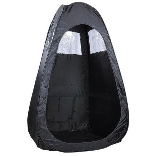Light Weight Portable Body AirBrush Tent Pop Up Room Outdoor w/ Bag - Black