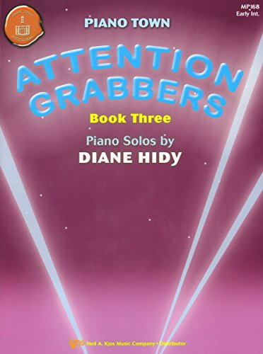 MP168 - Attention Grabbers Book 3 - Piano Town