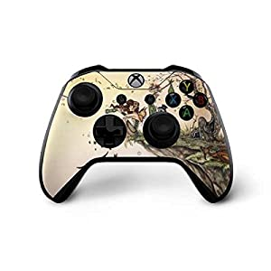 Skinit Decal Gaming Skin Compatible with Xbox One X Controller – Officially Licensed Tate and Co. Where The Wind Takes You Design