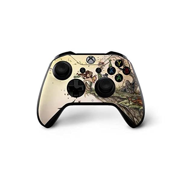 Skinit Decal Gaming Skin Compatible with Xbox One X Controller - Officially Licensed Tate and Co. Where The Wind Takes You Design 3