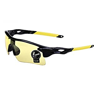 Men Sport Sunglasses Goggles Cycling Windproof UV400 Used in the outdoors (Mixed)