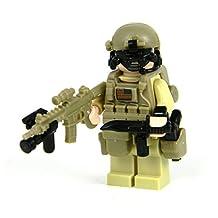 Seal Team 6 Commando (SKU47)- Battle Brick Custom Minifigures