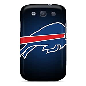 Anti-scratch And Shatterproof Buffalo Bills Phone Case For Galaxy S3/ High Quality Tpu Case