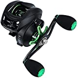 Sougayilang Baitcasting Reel,8.1:1 Gear Ratio Super Smooth Power, 12 + 2 Shielded Ball Bearings Anti-Corrosion Fishing Reel