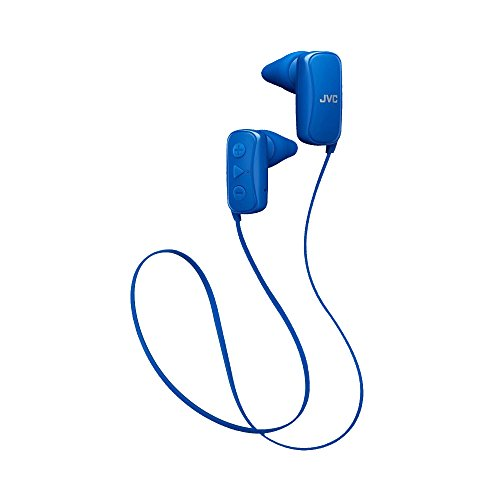 JVC HAF250BTA in-Ear Headphone, Bluetooth, Gumy - Blue
