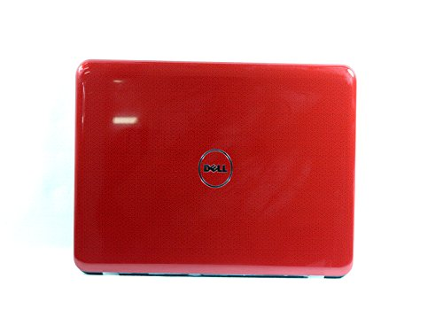 Genuine Dell Inspiron 1120 M101z 1121 Red LCD Back Cover with Wireless Antenna Cable 4WN4G
