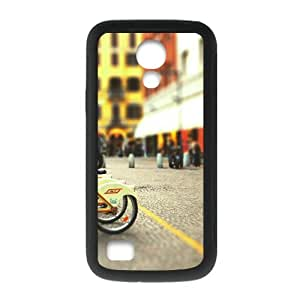 Custom Cityscapes Streets Bicycles Blur Cool Fashion Design Hot Custom Luxury Cover Case For Samsung Galaxy S4 Mini