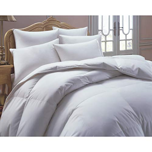 European Heritage Down Allure Oversized Hypoallergenic White Down Comforter King
