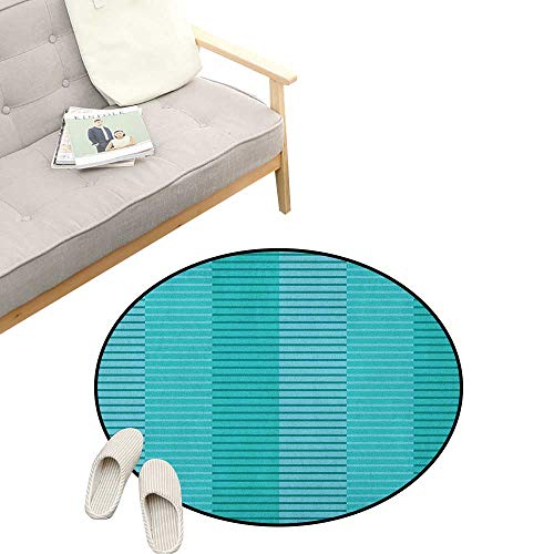 - Abstract Custom Round Carpet ,Abstract Stripes Pattern Digital Image in Print, Dorm Room Bedroom Home Decorative 31