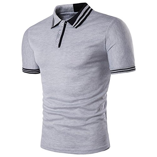 Usstore for Men's Top Fashion Sport Short Sleeve T-Shirt Pullover Blouse
