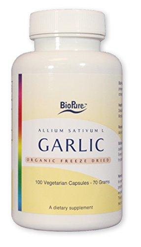 Organic Freeze Dried Garlic by BioPure