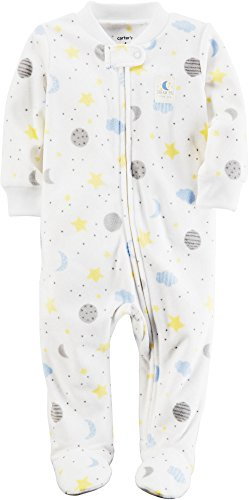 Carters Micro SNP Neutral moon star print Ivy - Ivy Star