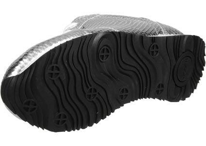 Woden Ydun Metallic W Schuhe Silber