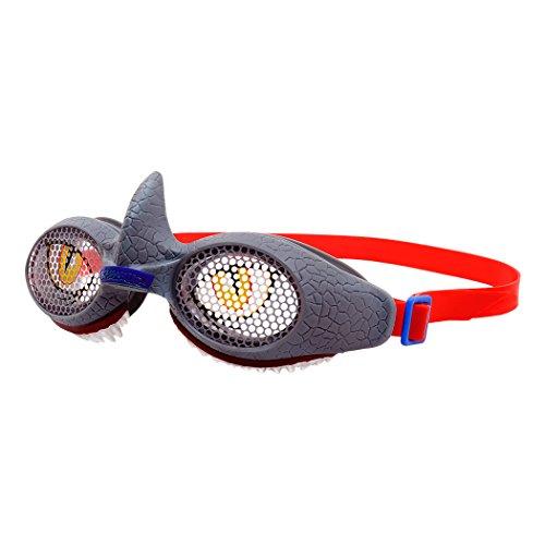 Bell Raskullz Shark Attax Swim Goggles, Grey