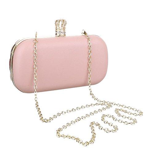 Ital-DesignClutch-tasche Bei Ital-design - Bolso de botón Mujer Rosa