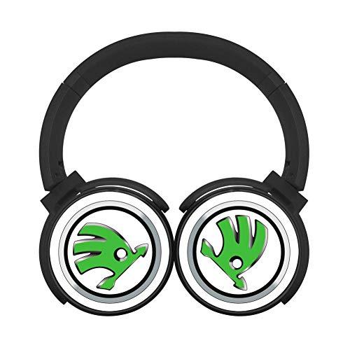 Price comparison product image BLTHFun Bluetooth Headset Headphone Wireless Skoda Logo 3D Printed Noise-canceling Earphone
