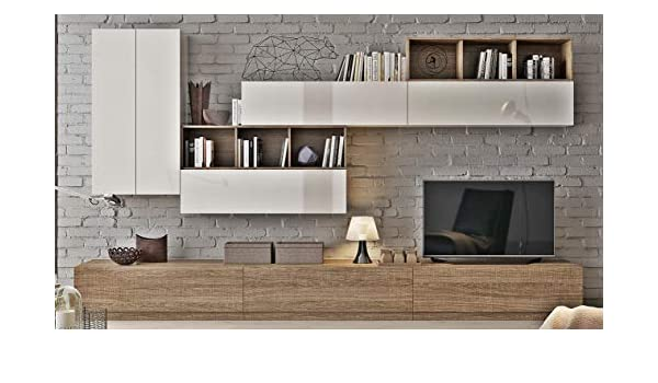 Klipick Muebles Salón Pared attrezzata Wall 002.: Amazon.es ...