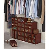 FourStar The Stackable Cedar Lined Shoe Boxes (Medium)