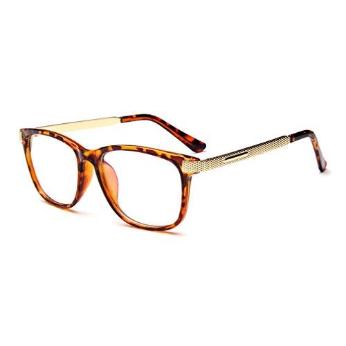 G&T Retro Fashion Men Womens Can Match Glasses Myopia Metal Leg Plain Casual - Are The What Most Sunglasses Popular