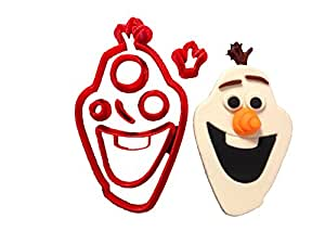 Frozen – Olaf Face Cookie Cutter Set (4 inches)