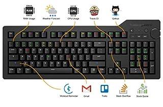 Das Keyboard DKPKD4RP0MNS0USX 4Q Soft Tactile MX Brown RGB Smart Mechanical Keyboard (B07HBHMP97) | Amazon price tracker / tracking, Amazon price history charts, Amazon price watches, Amazon price drop alerts