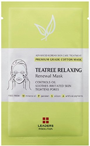 [Leaders Insolution] Tea Tree Relaxing Renewal Mask | Single Mask