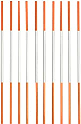 """181b30e64bd2 Driveway Markers, Snow Stakes Reflective, 4 Ft, ¼"""" (50 Pack,"""