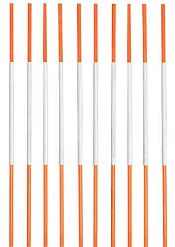 Driveway Snow Plow - Driveway Markers, Snow Stakes Reflective, 4 Ft, ¼