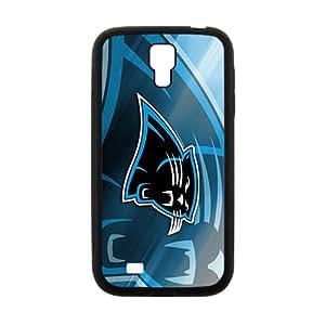 Carolina Panthers Phone Case for Samsung Galaxy S4 Black