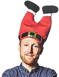 Christmas Hat, Funny Hat Novelty Santa Hat Crazy Hats Santa Pants Hat