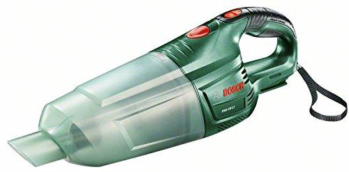 Bosch DIY Akku-Handstaubsauger PAS 18 LI, ohne Akku, Bürsten, Boden, Fugendüse, Verlängerungsrohr, Karton (18 V, 2,5 Ah)