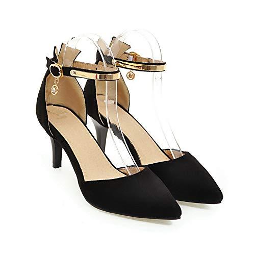 Compensées Sandales 5 EU Noir Femme 1TO9 Noir MJS03577 36 1BwxET