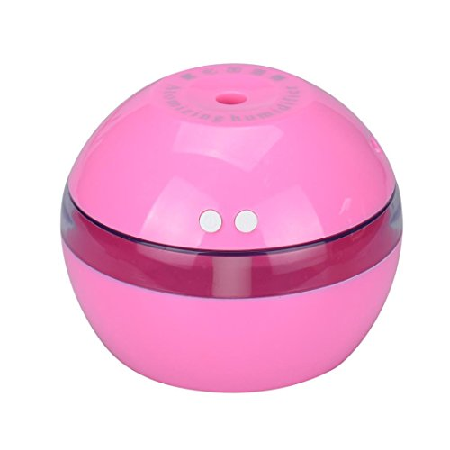Air Spray Water Dispenser Diffuser Ultrasonic Beauty Moisturizing HumidifierCool Mist Humidifier for Office Home Bedroom Baby Room Study Yoga Spa (pink) (E Cigarette Pot)