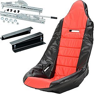 JEGS Performance Products 70200K1 Pro High Back Race Seat Kit ()