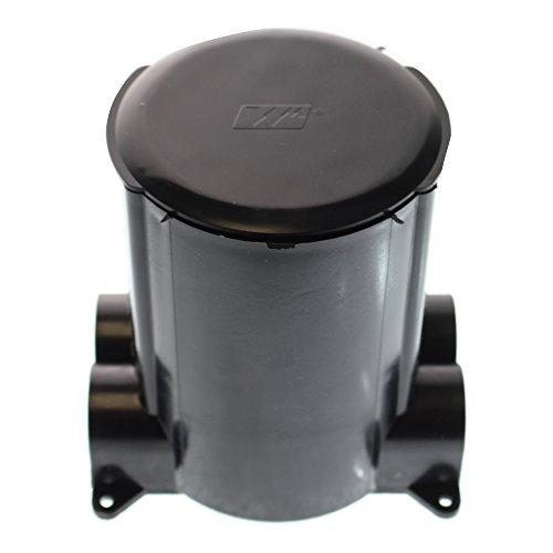 Wiremold 881 PVC 1-Gang Dual Service Non-Metallic Concrete Floor Box 4-1/4 Inch x 5-1/2 Inch x 6 Inch Ratchet-Pro (Wiremold Floor Box)