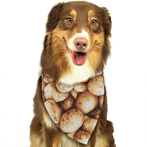 FortniteCOM Dog Bandana Potato Triangle Bibs Scarf Printing Kerchief Set Accessories Dogs Cats Pets -