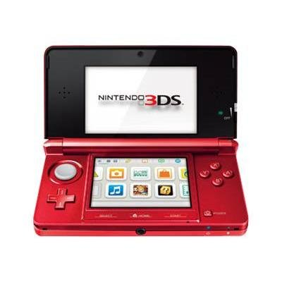 flame red 3ds - 3