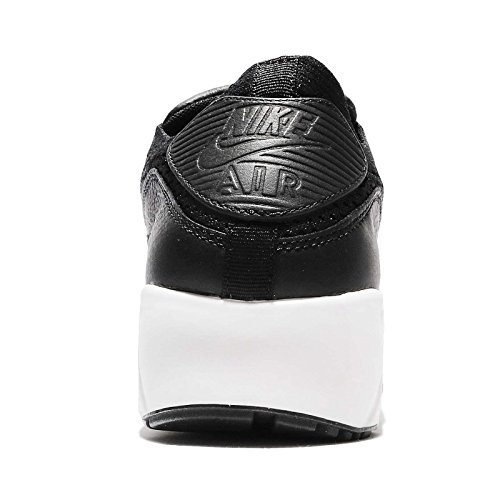 Nike Heren Lab Air Max 90 Flyknit, Zwart / Zwart-sail-sail Zwart / Zwart-sail-sail