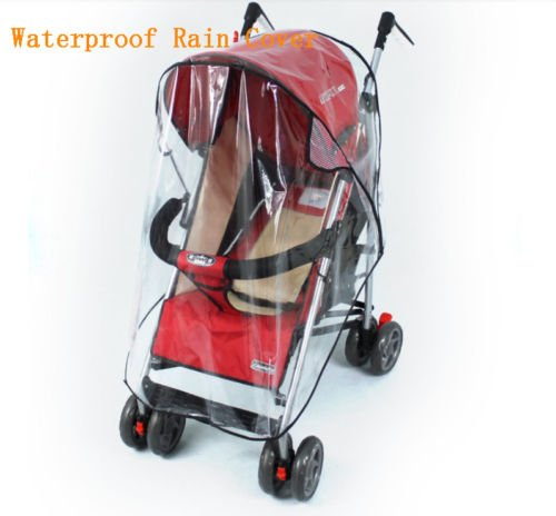 unihandbag NEW FASHION Universal Waterproof Rain Cover Wind Shield Fit Most Strollers Pushchairs