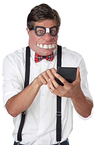 California Costumes Men's Geeked Out Mask - http://coolthings.us