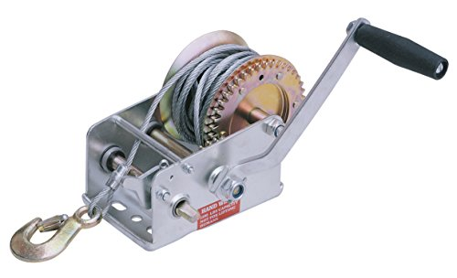 JLTC HW2500 Hand Winch, 2500-Pound Capacity, 30-Foot Cable - Hand Winch Lift