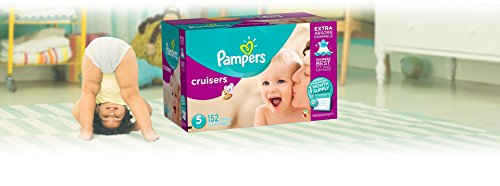 Large Product Image of Pampers Cruisers Disposable Diapers Size 5, 152 Count (Packaging May Vary)
