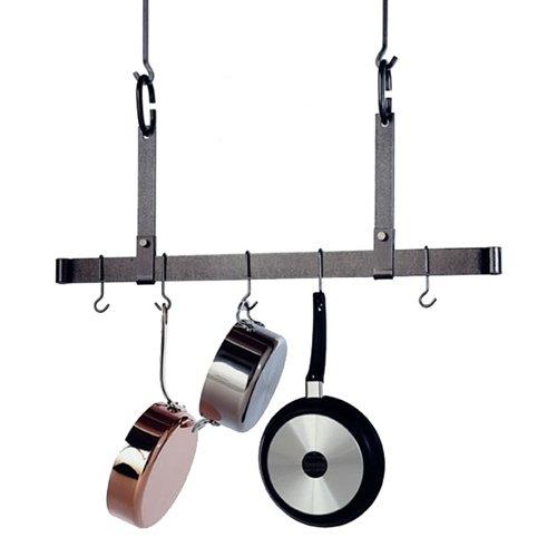 Hammered Steel Bar-Rack