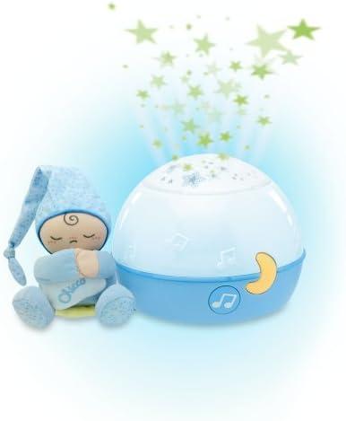 Chicco proyector buenas noches estrellas, Azul: Amazon.es: Bebé
