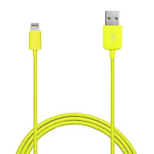 PURO 1.0m Lightning - USB 2.0 M/M - Cable Amarillo