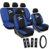 Best General Edge Car Seat Covers - Motorup America Embroidered Blue Dolphins Auto Seat Cover Review