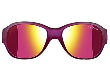 Julbo Lola Gafas de Sol polarizadas para niña, Color Morado translúcido Brillante/Gold
